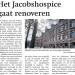 Renovatie Jacobshospice